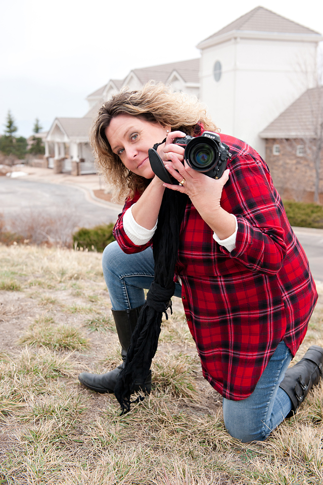 Photographer Red Flannel
