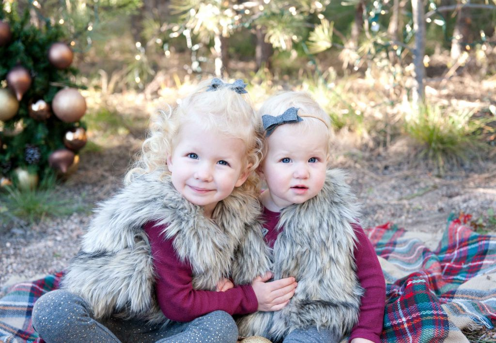 winter burgandy flannel blanket woods
